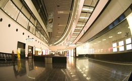 New check-in in Vienna airport Stock Images