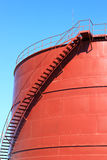 New chemical storage tank Royalty Free Stock Photography