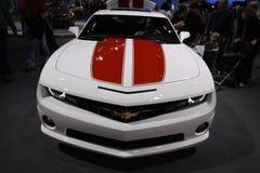 New Chevrolet Camaro. Chevrolet exposition at Chicago auto show 2011 Royalty Free Stock Photos