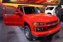 New Chevrolet Colorado 2011. Chevrolet exposition at Chicago auto show 2011 Stock Photos