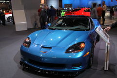 New Chevrolet Corvette 2011 Royalty Free Stock Photography