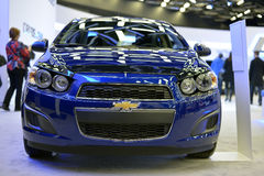 New Chevrolet Sonic  Stock Image