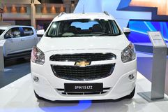 New Chevrolet Spin 1.5 Litre on display Stock Images