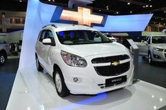 New Chevrolet Spin 1.5 Litre on display Royalty Free Stock Photos