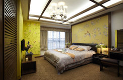 New Chinese style home Stock Photo