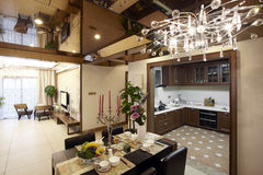 New Chinese style home. Shot indoor royalty free stock images
