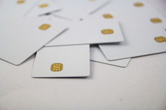 New chip cards Stock Images