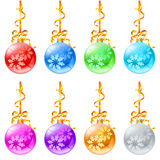 New Christmas decorations Stock Images