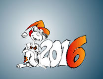New 2016 Royalty Free Stock Photo