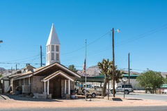 New church in Beatty, Nevada Stock Photography