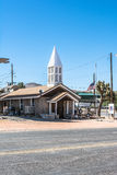 New church in Beatty, Nevada. Beatty,Nevada,USA -July 10, 2016 : The new church on the Main Street in Beatty Royalty Free Stock Photos
