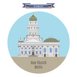New Church, Berlin, Germany Royalty Free Stock Images