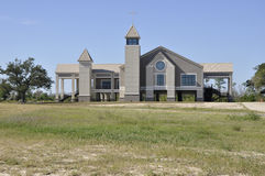 New church in Biloxi, Mississippi stock photo