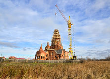 New church construction Royalty Free Stock Images