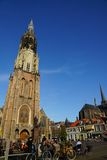 The new church in Delft Stock Photo