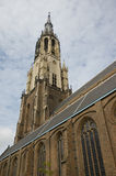 New Church in Delft. The New Church in the centre of Delft, The Nethetlands Royalty Free Stock Image