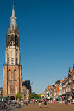 New Church on the Delft Market Square Stock Images