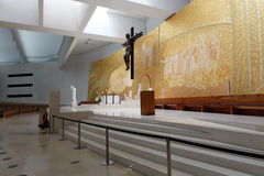 New church of Fatima altar Stock Image