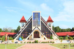 New church on Mansinam island Royalty Free Stock Images