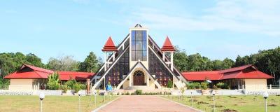 New church on Mansinam island Royalty Free Stock Photos