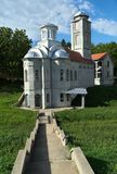New church in monastery Privina Glava, Šid, Serbia.  Stock Image