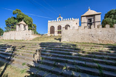 New Church of St. Mary of Zion in the City of Axum Royalty Free Stock Photo