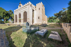 New Church of St. Mary of Zion in the City of Axum Stock Image