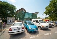 The new cinema in Pomorie in Bulgaria Stock Photos