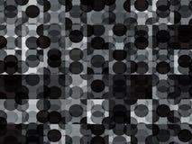Modern Circles Geometric Background vector illustration