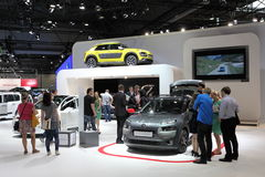 New Citroen C4 Cactus at Auto Mobile International Stock Images
