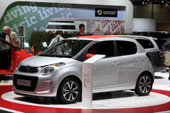 New Citroen C1 city car Stock Photos