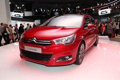 The new Citroen C4 Stock Image