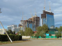 Free New City - Constructions Royalty Free Stock Image - 77150466