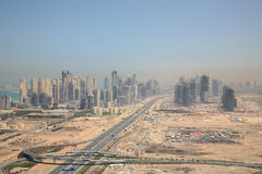 New City of Dubai stock photos