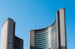 New City Hall Architectural Detail,Toronto Stock Photo