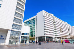 New City Hall of The Hague, Netherlands Stock Images