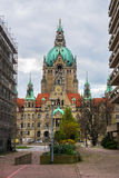 New City Hall in Hannover. Stock Photos