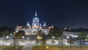 New City Hall of Hannover, Germany Royalty Free Stock Photos