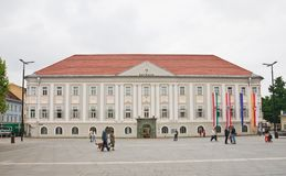 New City Hall in Klagenfurt. Carinthia. Austria Stock Photo