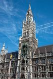 The New City Hall at the Marienplatz in Munich Stock Image