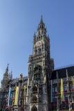 New city hall of Munich at Marienplatz, Germany, 2015 Royalty Free Stock Photography