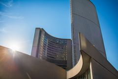 The New City Hall in Toronto,Canada Royalty Free Stock Images