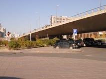 New city - left part; bridge Stock Photography