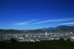 The new city of lijiang Royalty Free Stock Photo