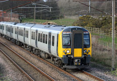 New class 350 electric train, West Coast Mainline Royalty Free Stock Photos