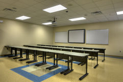 New Classroom at Middle School Stock Photography