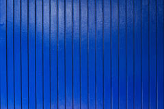New and clean blue wood wall Royalty Free Stock Images