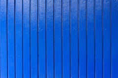 New and clean blue wood wall Royalty Free Stock Photos