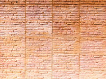New and clean brick wall Royalty Free Stock Photo