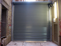 Urban Roller Door Royalty Free Stock Photos